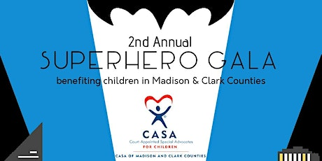 2nd Annual CASA Superhero Gala tickets