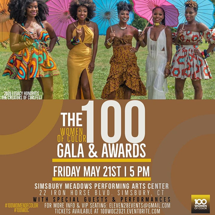 100 Women of Color Gala & Awards 2021: Tickets / VIP Access / Sponsorship image