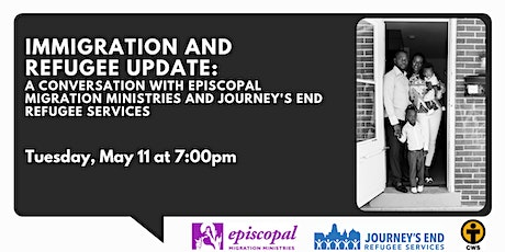 Immigration and Refugee Update: A  Conversation with EMM and Journey's End tickets