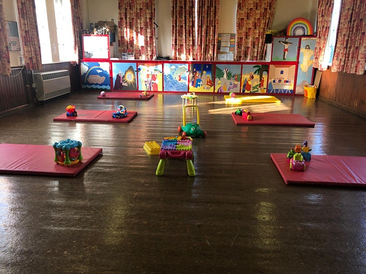 Silver Tots Baby & Toddler Group - Session 3- 18 months & under - 13th May image