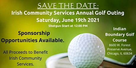 Irish Community Services Annual Golf Outing 2021 tickets