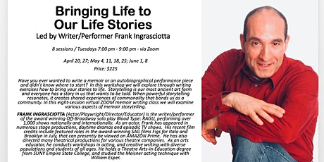 Bringing Life to Our Life Stories - Memoir &  Performance Writing tickets
