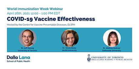 COVID-19 Vaccine Effectiveness tickets