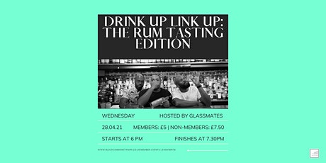 UK BCN Drink Up Link Up: The rum-tasting edition tickets