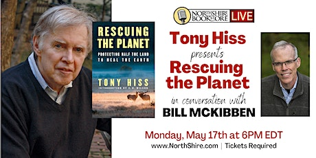 Northshire Live: Tony Hiss in conversation with Bill McKibben tickets
