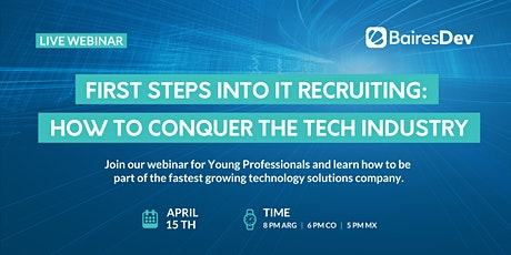 BairesDev Webinar - Recruiting Young Professionals Edition tickets