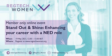 Stand Out and Shine: Enhancing your career with a NED role tickets