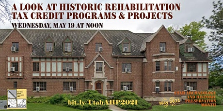 A Look at Historic Rehabilitation Tax Credit Programs & Projects tickets