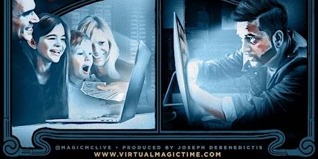 Virtual Magic Show w/ Magician Durgy Spade! tickets