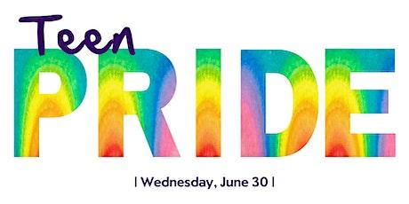 Teen Pride Celebration on Discord ingressos