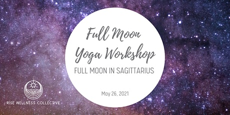 Full Moon Yoga Workshop: Full Moon in Sagittarius tickets
