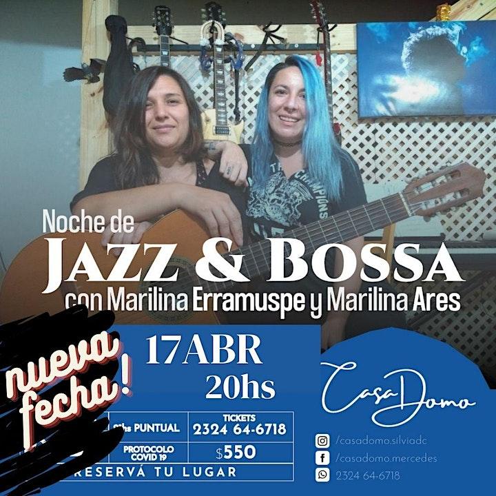 Imagen de Noche de Jazz y Bossa Nova con Marilina Erramuspe y Marilina Ares