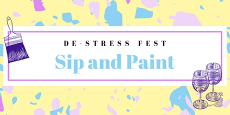 Paint and Sip Art Kit Pick Up tickets