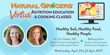 Healthy Soil, Healthy Food, Healthy People tickets