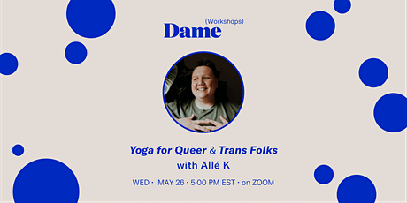 Yoga for Queer and Trans Folks billets