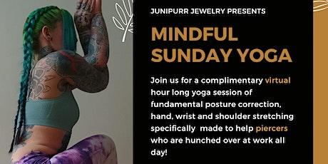 Junipurr Mindful Sunday Yoga w/ Lola Slider tickets