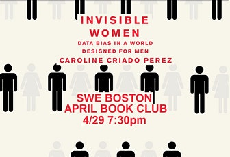 April Book Club: Invisible Women: Data Bias In A World Designed for Men tickets