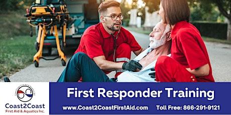 First Responder Course - Markham tickets