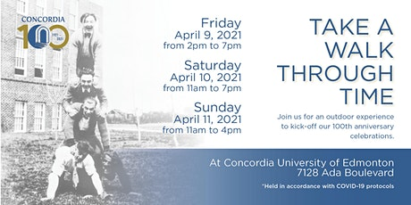 Take A Walk Through Time Experience at Concordia University of Edmonton tickets