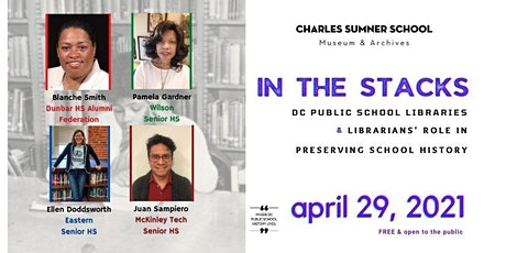 DC Public School Libraries & Librarians' Role in Preserving School History tickets