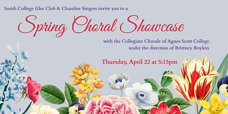 Smith College Glee Club Spring Choral Showcase tickets