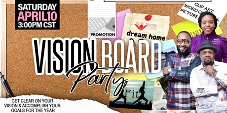 New Home Ministries Virtual Vision Board Party tickets