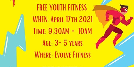 SuperHero Training - Youth Fitness tickets