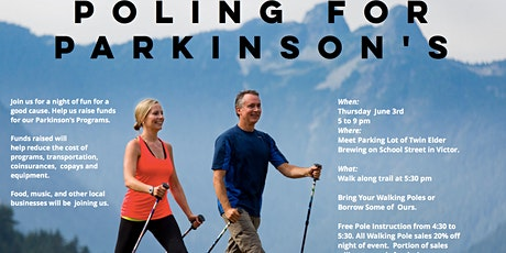 Poling for Parkinson's Walk tickets