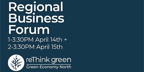 Green Economy North's Regional Business Forum tickets
