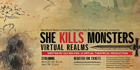 She Kills Monsters: Virtual Realms by Qui Nguyen tickets