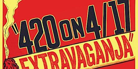 4/20 on 4/17 Extravaganja tickets