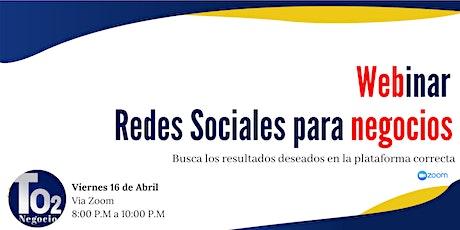 Redes Sociales para Negocios entradas