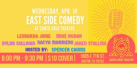Copy of East Side Comedy at Santa Cruz Theatre tickets