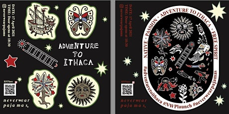 'Never wear pajamas, Adventure to Ithaca' tickets