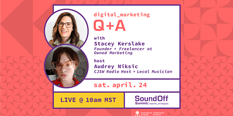 LIVE Q&A w. Stacey Kerslake on Digital Marketing tickets