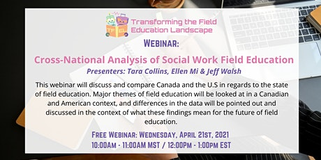 Cross-National Analysis of Social Work Field Education tickets