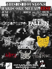 BCHC Booking Presents: Houston's Hardcore/Metal Fest tickets