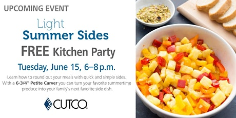 FREE Cooking Class: Light Summer Sides tickets