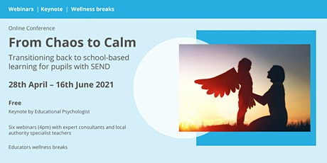 Teacher Training Event: From lockdown to school for learners with ASD tickets