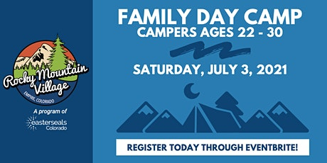 Family Day Camp (Campers Ages 22-30) with Rocky Mountain Village tickets
