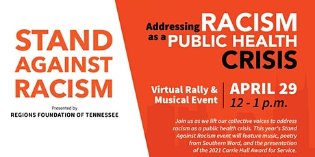 2021 Stand Against Racism Virtual Community Rally tickets