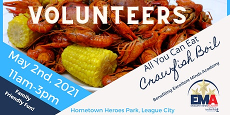 2021 Crawfish Boil- Volunteers tickets