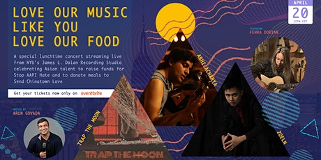 Love Our Music Like You Love Our Food - A Live Streaming Benefit Concert tickets