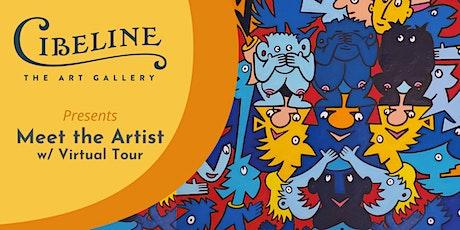 Virtual Tour & Meet the Artist: Jean Sariano tickets