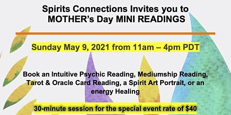 Mother's Day Mini Readings tickets