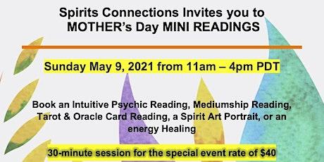 Mother's Day Mini Readings biglietti