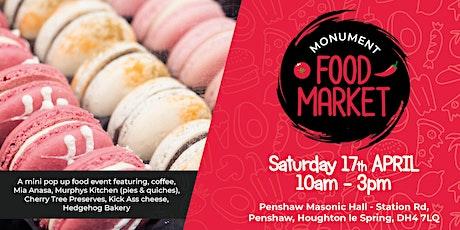 Monument Food Market - April tickets