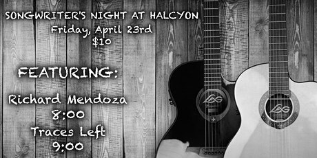 Halcyon Fridays with Richard Mendoza and Traces Left tickets