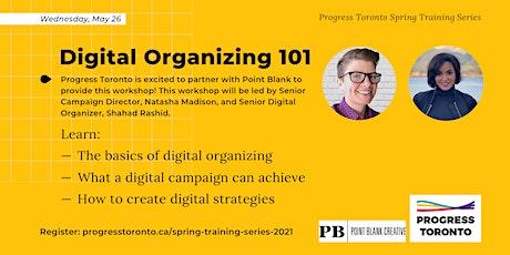 Spring Training Series: Digital Organizing 101 tickets