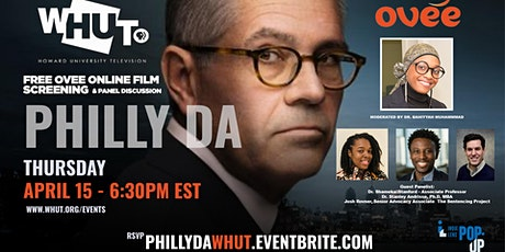WHUT Film Screening and Panel Discussion  of  PHILLY DA tickets